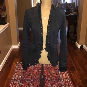 Free people military jacket. Size S